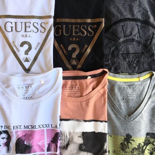 ゲス USA  プリント Tシャツ(上段)