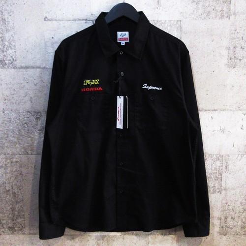 SUPREME × HONDA 19AW Fox Racing Work Shirt