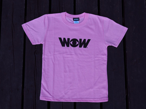 WOWキッズ Tシャツ ピンク(送料込み)