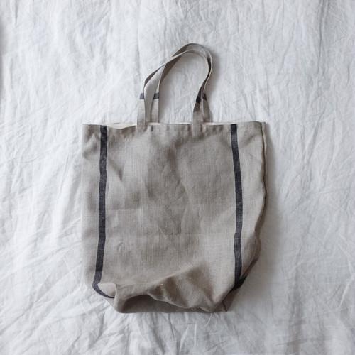 リネンのショッピングバッグ