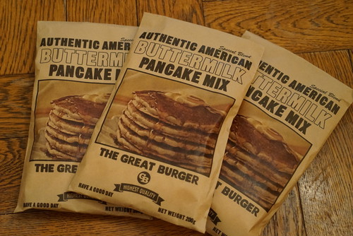 THE GREAT BURGER BUTTER MILK PANCAKE MIX