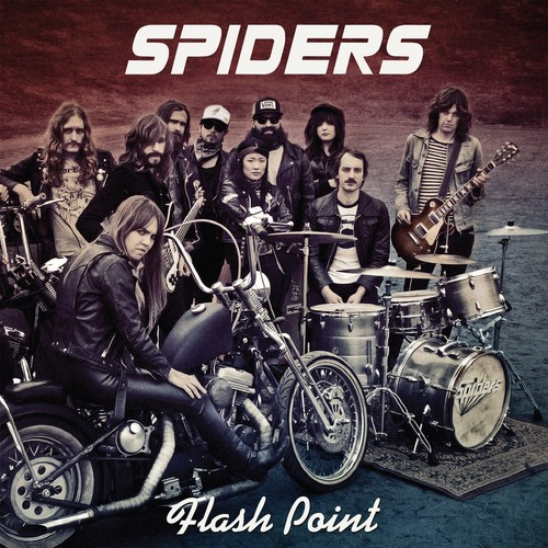 SPIDERS 「Flash Point」  日本盤CD