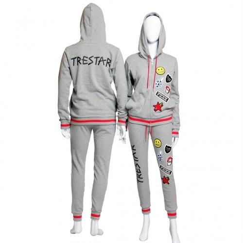 TRE☆STAR『トレスター』2019AW☆セットアップ☆グレー