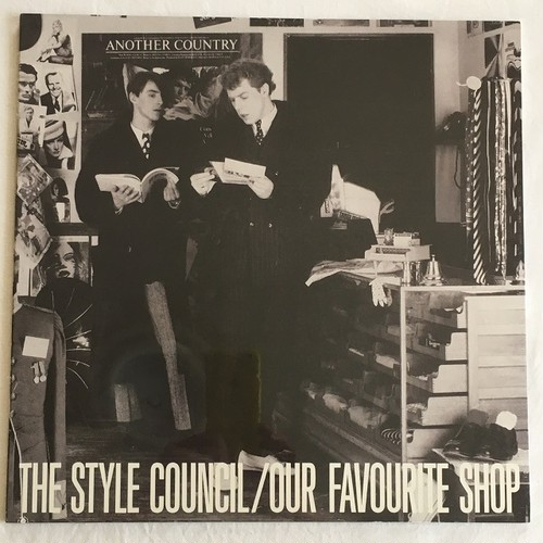 【LP・独盤】The Style Council / Our Favorite Shop