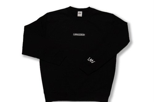 【small logo  sweat】/ black