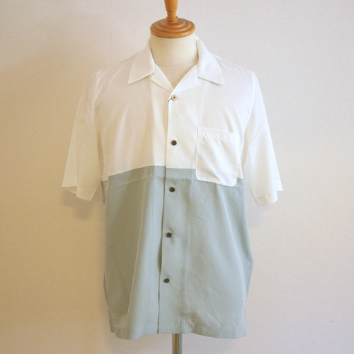 By-Color Open Collar Shirts White
