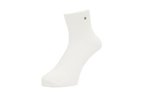 WHIMSY / VERSE SOCKS -WHITE-
