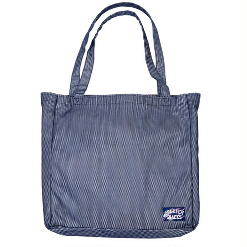 QUARTERSNACKS / MESH TOTE -NAVY-