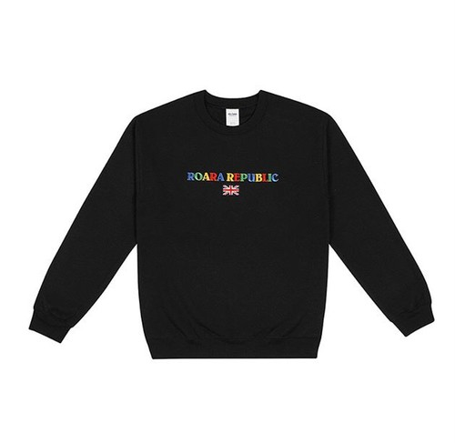 "ROARA REPUBLIC LONDON ""CREWNECK SWEAT"""