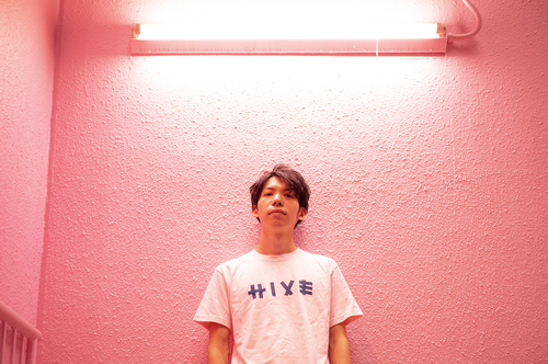 HIVE SPOT TEE / BABY PINK