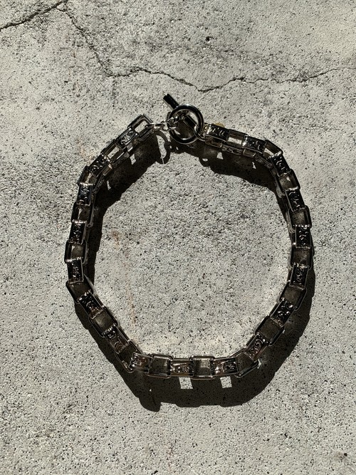FUMIE=TANAKA metal short necklace