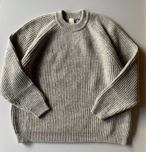 O project KNITTED CREW NECK NAT MELE