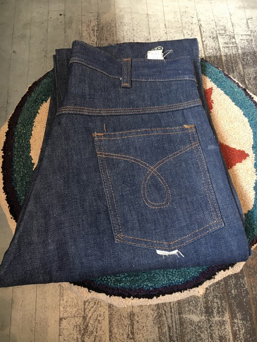 "70s ""KEY"" 5p denim pants"
