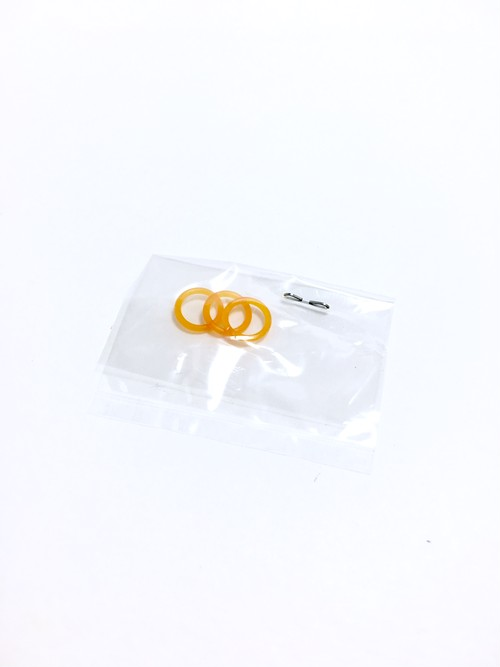 ZEBRA Tect 2Way Ring 3set Orange