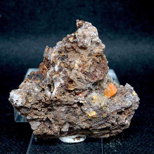 モリブデン鉛鉱  43g ウェルフェナイト WF042 天然石 鉱物 標本 原石