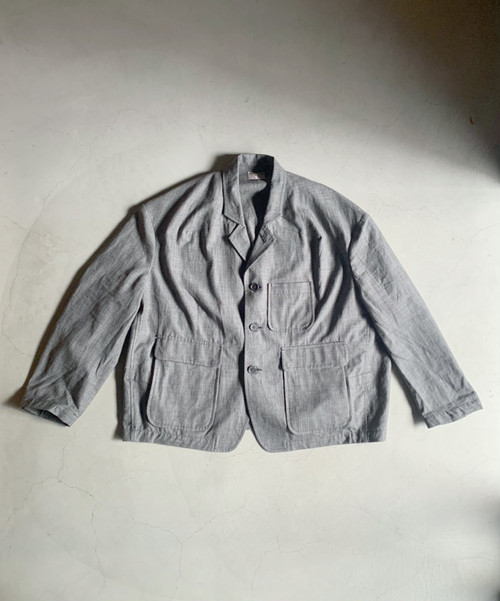 HOMELESS TAILOR SAMO JACKET GRAY CH