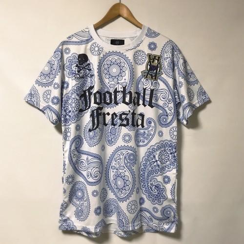 【SKULLKICKS×FootballFresta】プラクティスシャツ