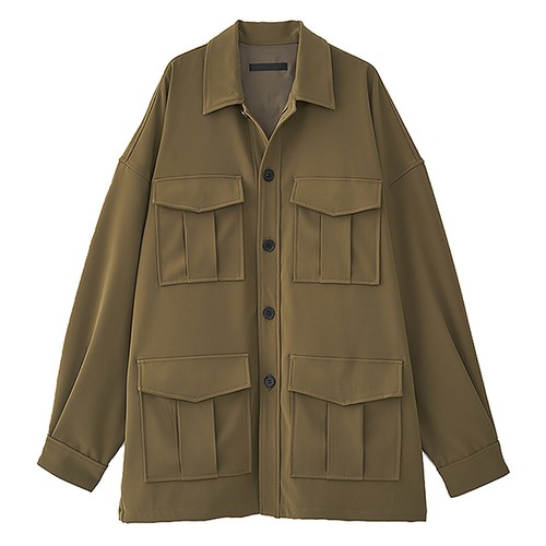 OVERSIZED SAFARI JACKET (JUHA)