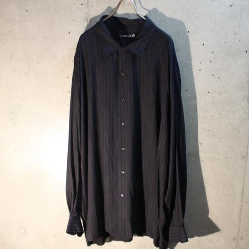 Long sleeve rayon shirt