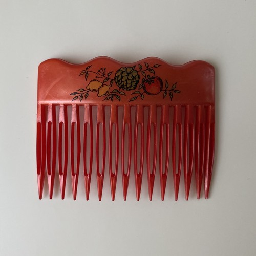 France ヘアコーム・fruits red /  ac0150