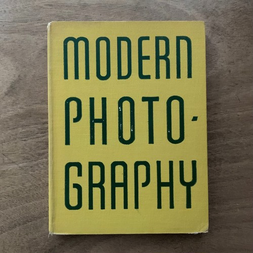 Modern Photography / The Studio Annual of Camera Art 1938-9