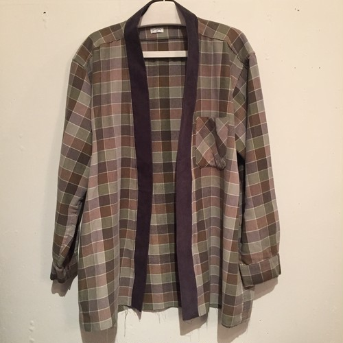 【OLD PARK】GRANDPA SHIRT FLANNEL OP-163 (No.650001)