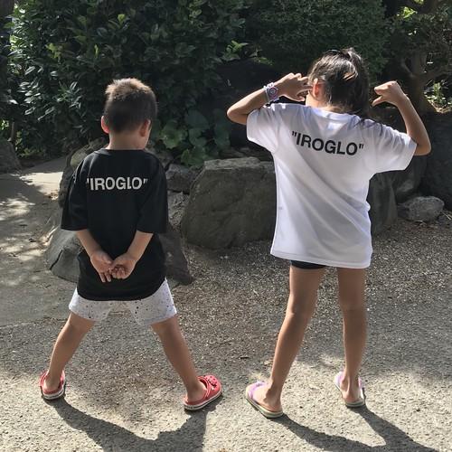 キッズ/IROGLO/イログロ/Off Shore/ドライシルキーTシャツ/2color