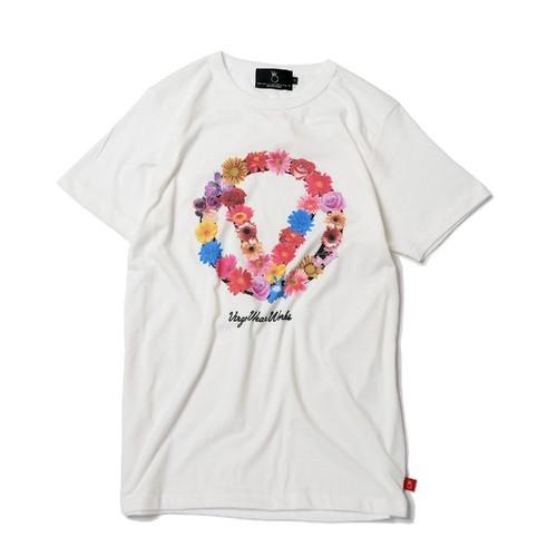 VIRGOVGW GARLAND【TENDER】 / WHITE / ヴァルゴ Tシャツ /  VG-SSPT-220