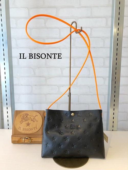 【日本限定】IL BISONTE(イルビゾンテ)/ショルダーバッグ/04211(ブラック)