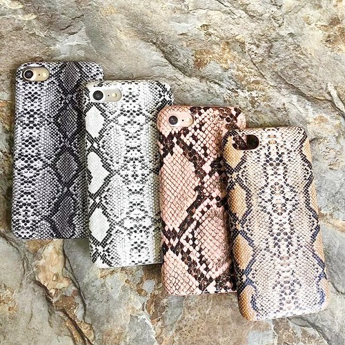 クロコ iPhone case 【4色】