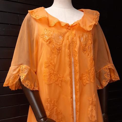 Flare sleeve lingerie gown フレアスリーブランジェリーガウン