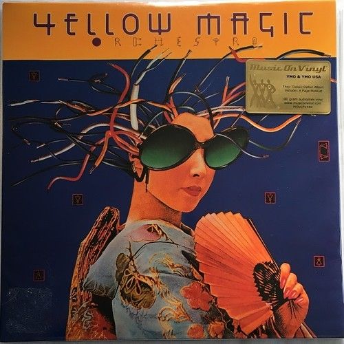 【LPx2・欧州盤】YMO / Yellow Magic Orchestra(180g重量盤)