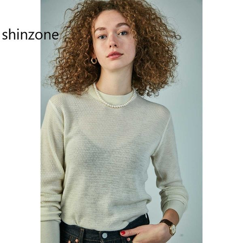 THE SHINZONE/シンゾーン・WOOL WAFFLE