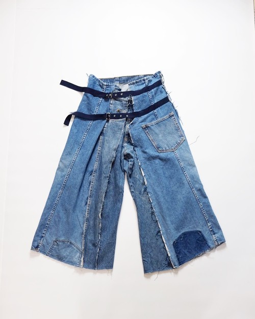 make over denim pants