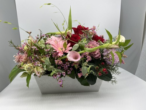 arrangementsアレンジメント Mサイズ (レッド・ピンク系)