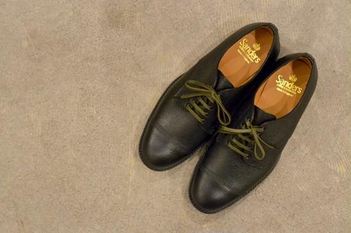 SANDERS - Military Derby Toecap Shoe