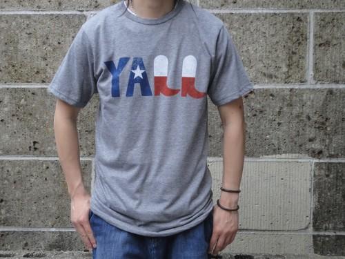 PALMER CASH (パルマーキャッシュ) CDR Y'ALL T-Shirts グレー