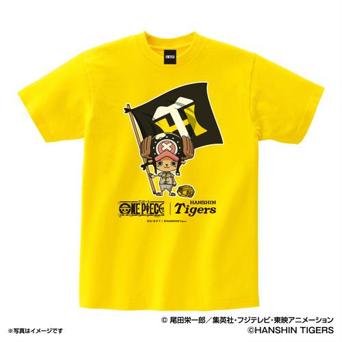 ワンピース×タイガース Tシャツ 130cm