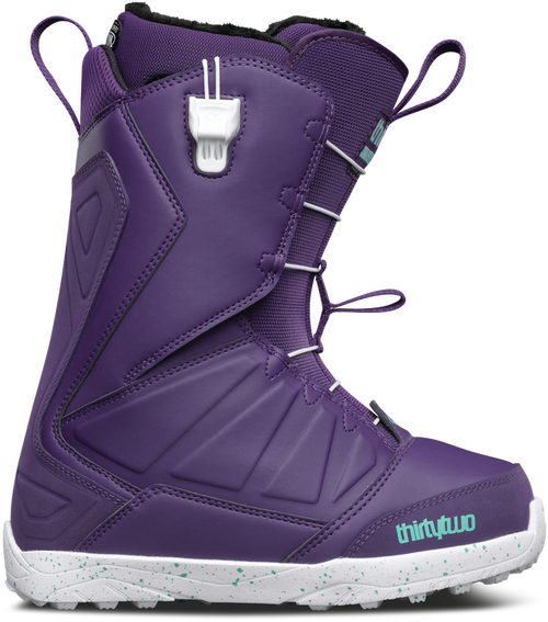 thirty two SNOWブーツ LASHED WOMEN puple 23.5cm