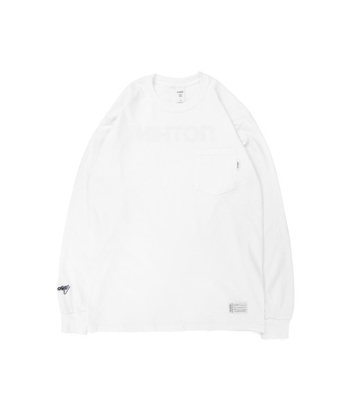 All of L/S Pocket Tee (noTHIN') / WHITE