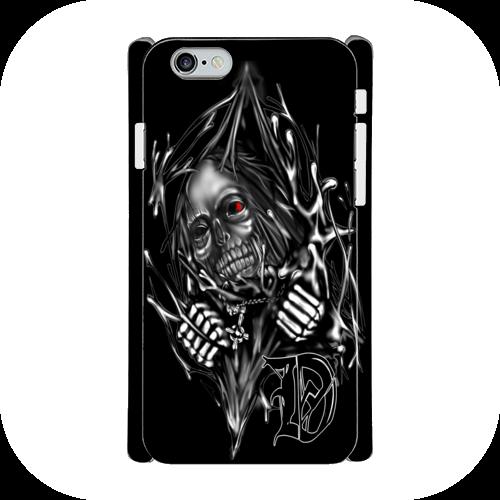 #016-001 iPhone8対応 クール系・ロック系《ドクロ神父》iPhoneケース・スマホケース 全キャリア対応 作:nero Xperia ARROWS AQUOS Galaxy