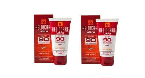 【送料無料!!】 日焼け止め カンタブリア ヘリオケア ウルトラジェル / HELIOCARE ULTRA Gel SPF90 50ml×2本