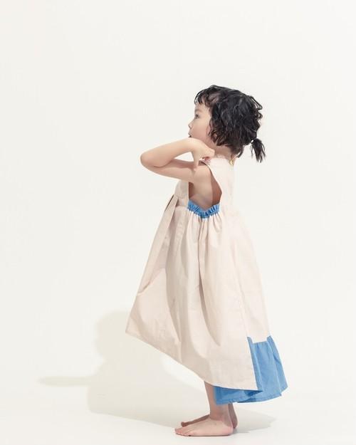 残り1点 tail wind dress pale pink(淡いピンク)✖️Blue(ブルー)