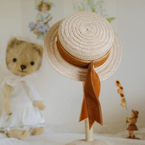Le Petit Loriot Mini Sisal Hat for Blythe
