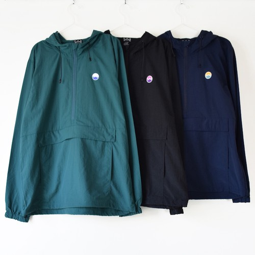 Nylon Anorak Jacket