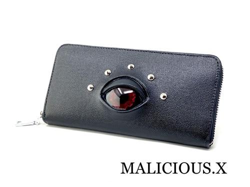 devil eye wallet / red(safiano)