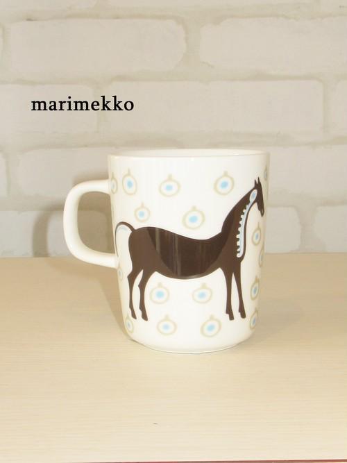 marimekko(マリメッコ)/マグカップ/Musta Tamma/71098