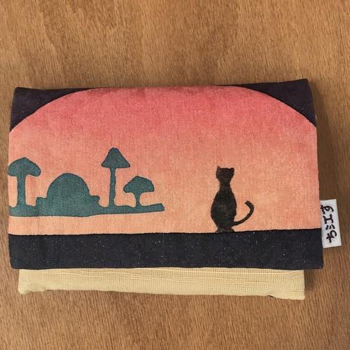 ち江す・ティッシュケース(旅猫の黄昏)