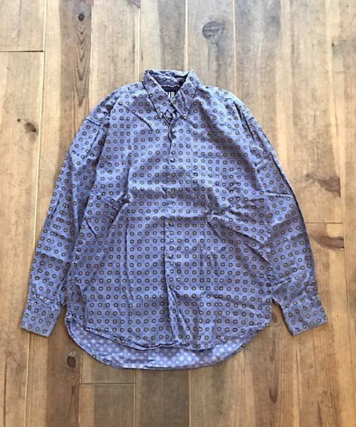 90s OLD GAP 小紋柄 SHIRTS (UT-1940)
