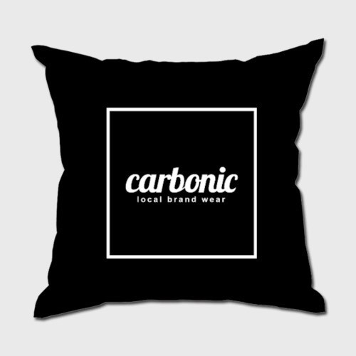 carbonic SQUARE cushion BK